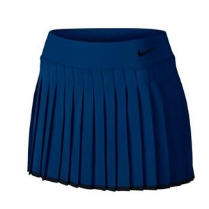 Nike Pleated Tennis Skirt Skort Navy